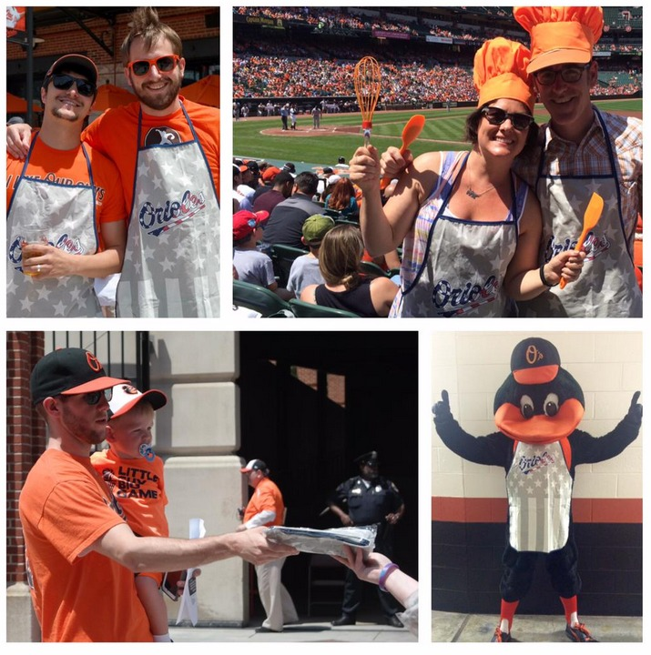 apron memorial day - baltimore orioles