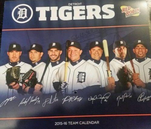 calendar - detroit tigers