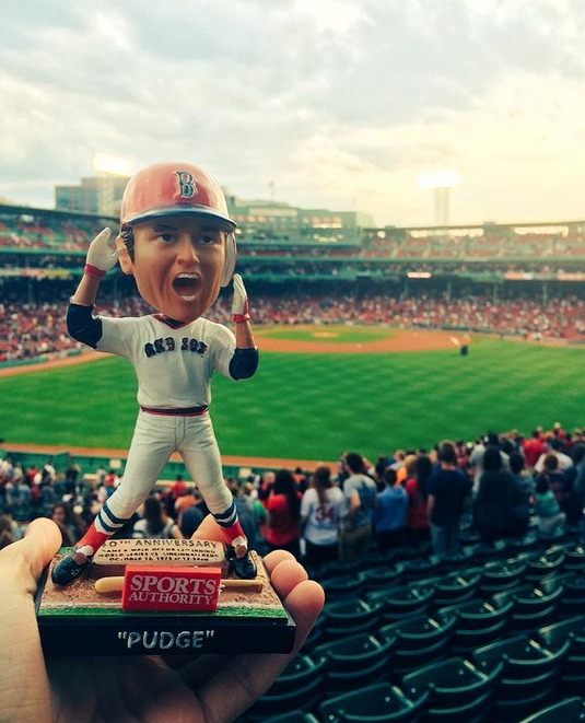 carlton fisk stay fair bobblehead - boston redsox (2)