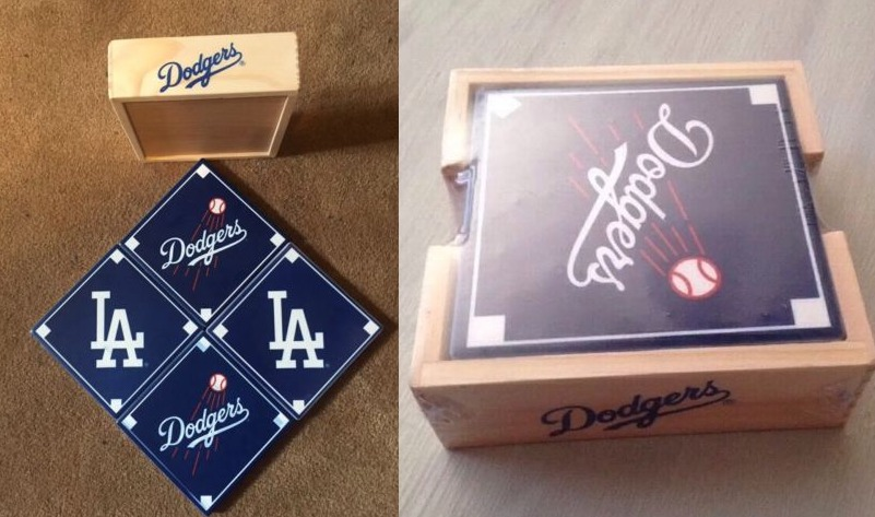 coasters - los angeles dodgers (2)
