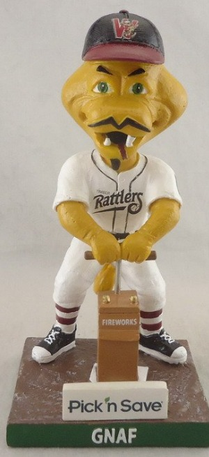 gnaf bobblehead - wisconsin timber rattlers - 9-1-2016