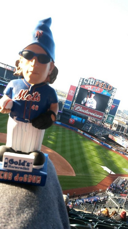 jacob degrom gnome - new york mets
