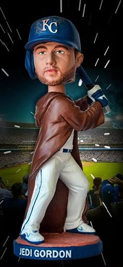 jedi alex gordon bobblehead - kansas city royals