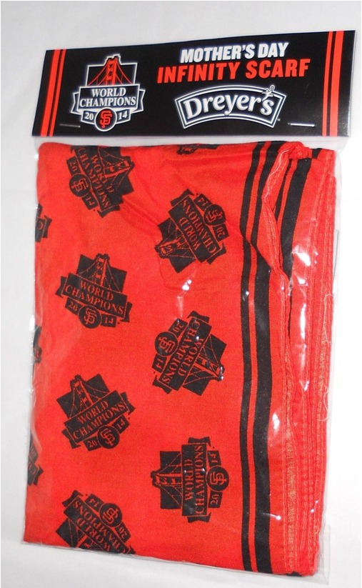 mother's day scarf - san francisco giants