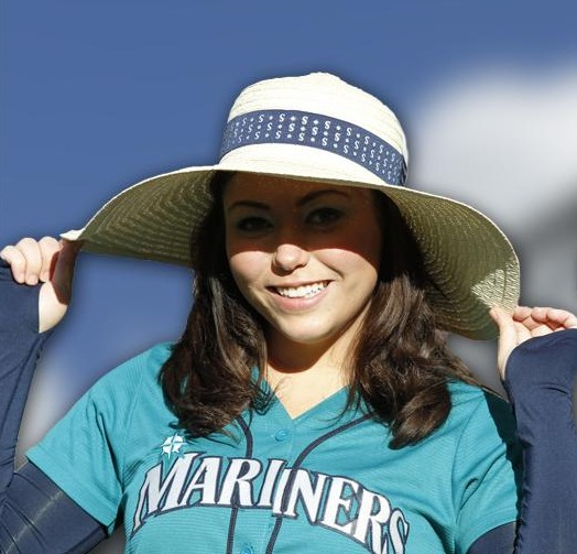 mother's day sun hat - seattle mariners