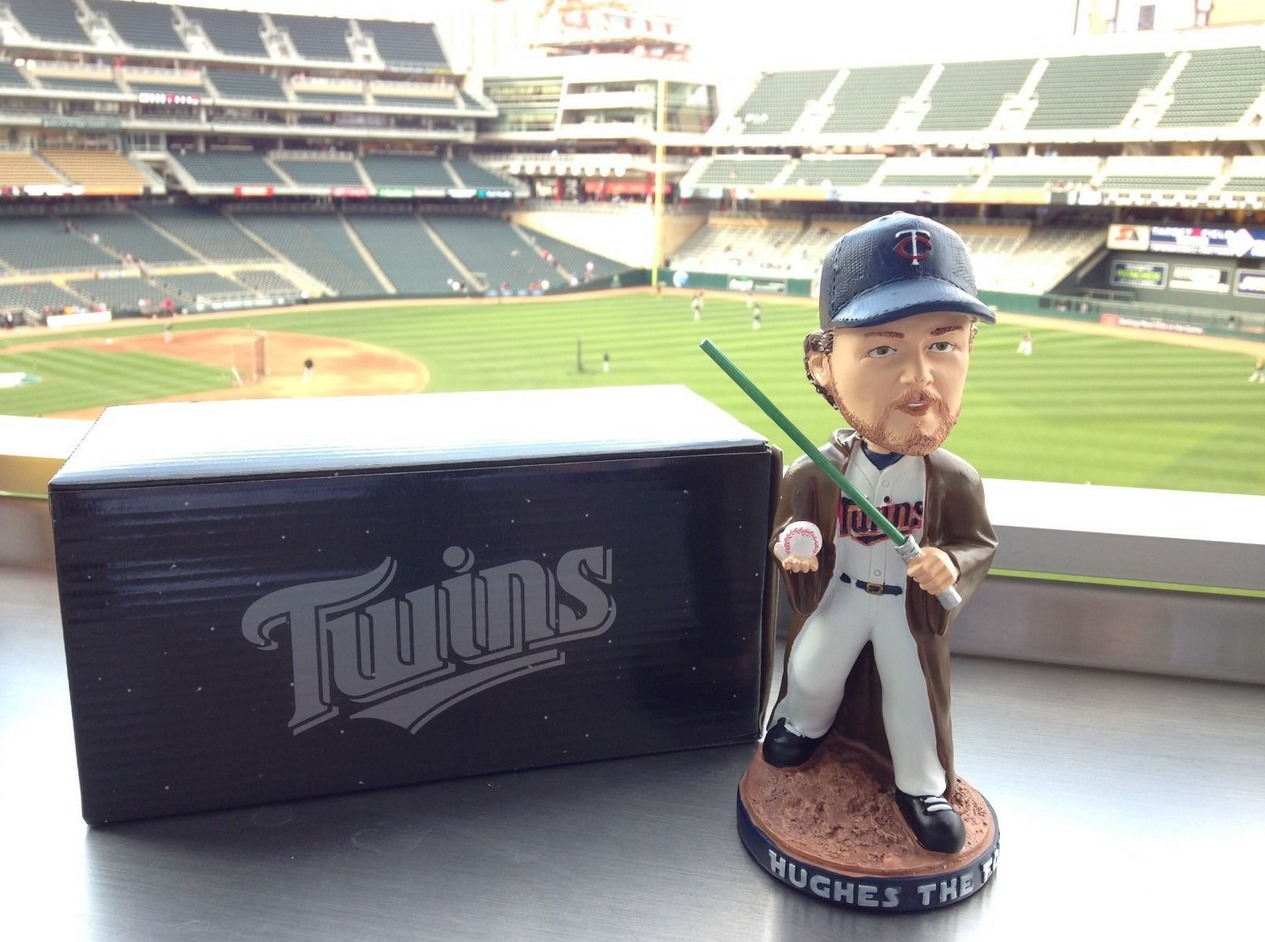 phil hughs star wars bobblehead - minnesota twins