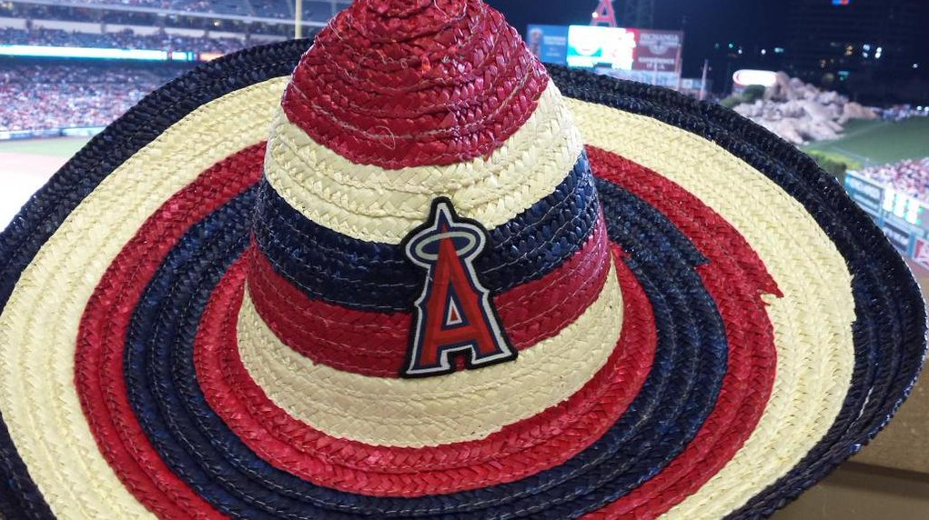 sombrero - los angeles angels