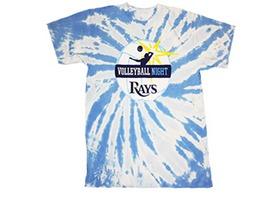 volleyball tshirt - tampa bay rays