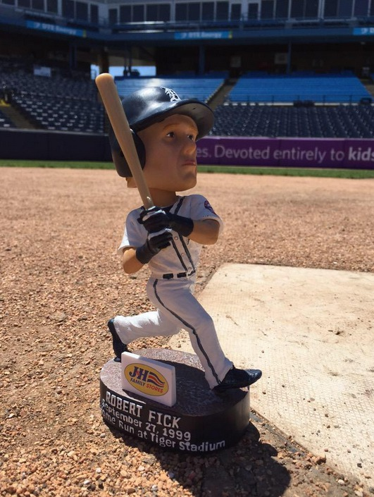 Robert Fick Bobblehead - West Michigan Whitecaps - Detroit Tigers