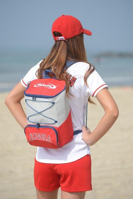 backpack cooler - los angeles angels