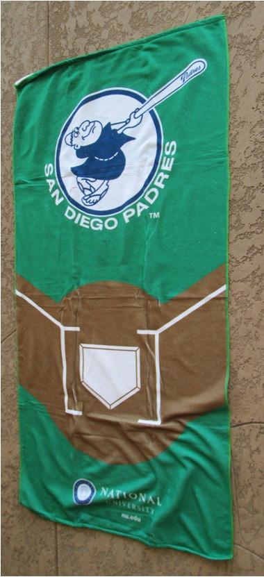 beach towel - san diego padres (2)