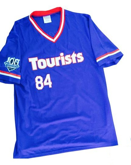 1984 replica jersey - ashville tourists - colorado rockies