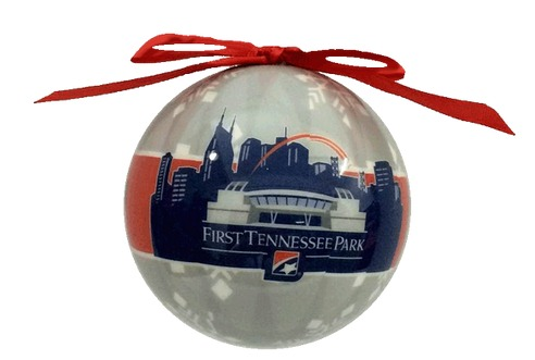 christmas ornament - nashville sounds - oakland athletics