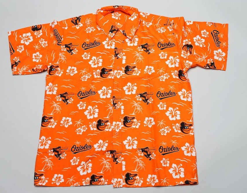 hawaiian shirt - baltimore orioles