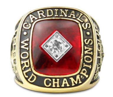 replica ring 1982 world series - st louis cardinals