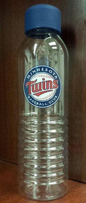 water bottle - minnesota twins