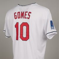 Cleveland Indian_Yan Gomes Jersey_8-29-15