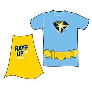 Tampa Bay Ray_Superhero Cape T shirt_9-13-15