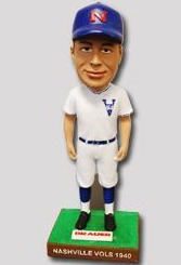 vols vintage bobblehead - nashville sounds - oakland athletics