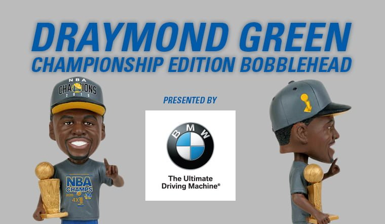Golden State Warriors_Draymond Green Bobblehead_11-24-15