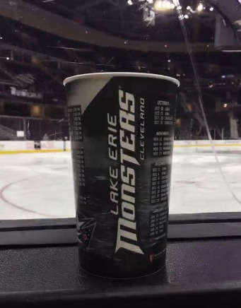 Lake Erie Monsters - Collector's Cup - 10-16-2015