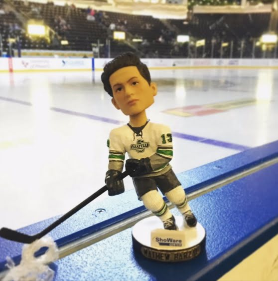 Seattle Thunderbirds Mathew Barzal Bobblehead 11-28-2015