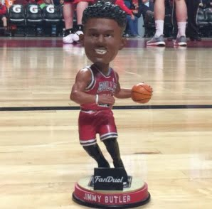 Chicago Bulls Jimmy Butler Bobblehead 12-30-2015