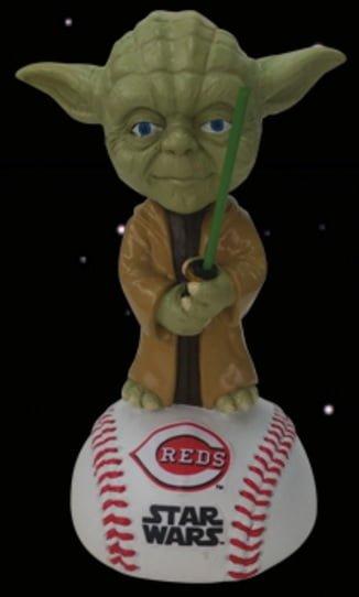 Cincinnati Reds Yoda Star Wars Bobblehead 5-6-2016