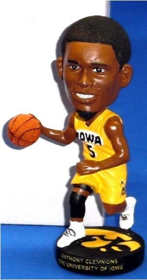 Iowa Hawkeyes NCAA Mens Basketball - Anthony Clemmons Bobblehead - 11-15-2015