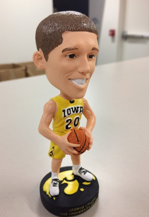 Iowa State NCAA Mens Basketball - Jarrod Uthoff Bobblehead - 12-22-15