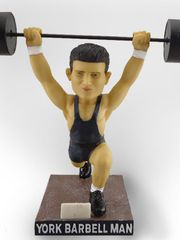 York Revolution York Barbell Man Bobblehead 7-29-2016