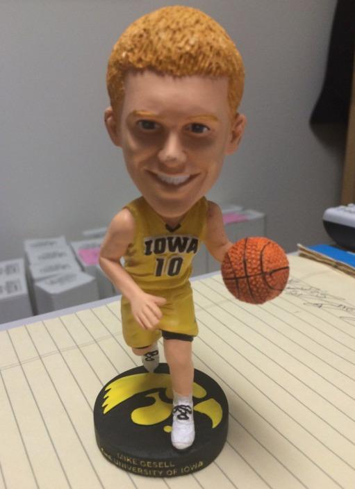 iowa hawkeyes basketball - ncaa - dec 7, 2015