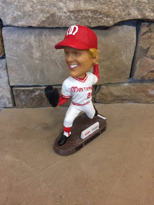 Billings Mustangs Tom Browning Bobblehead 6-18-2016