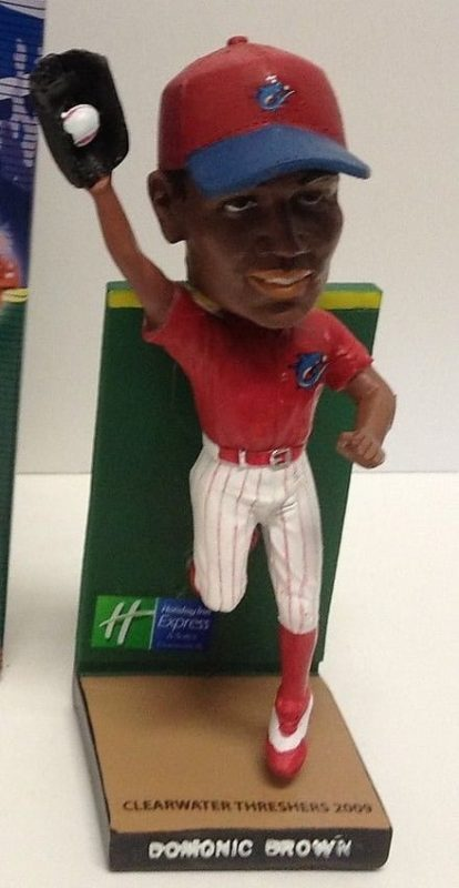 Clearwater Threshers 2011 Domonic Brown BobbleHead
