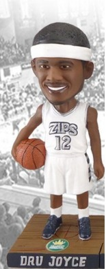 Dru Joyce Bobblehead - University of Akron (Men's NCAA Basketball) - 2-16-2016