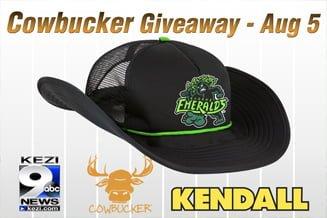 Eugene Emeralds Cowbucker Hat 8-5-2016