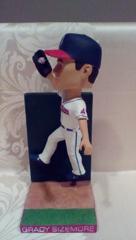 Grady Sizemore Wall Catch Bobblehead Cleveland Indians