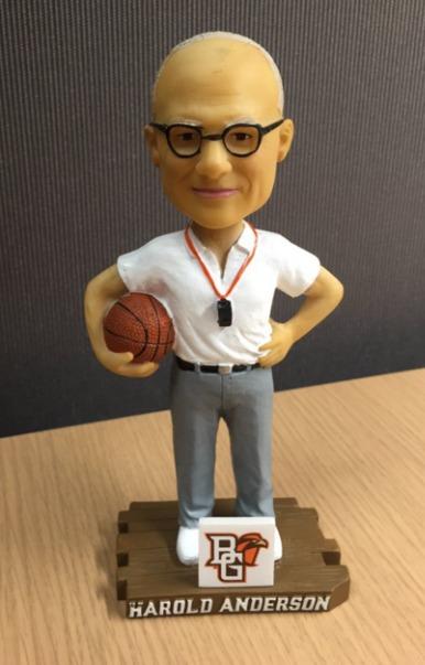 Harold Anderson Bobblehead - Bowling Green State University (Men's NCAA Basketball) - 1-23-16