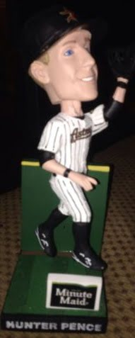 Hunter Pence Astros Wall Catch Bobblehead