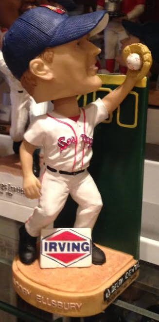Jacoby Ellsbury Portland Sea Dogs Wall Catch Bobblehead