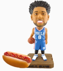 Jahlil Okafor Bobblehead - Philadelphia 76ers - 2-8-2016