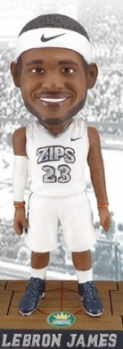 Lebron James Bobblehead - University of Akron (Men's NCAA Basketball) - 3-1-2016