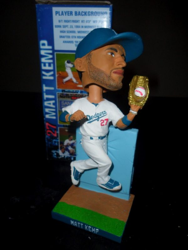 Matt Kemp Wall Catch Bobblehead