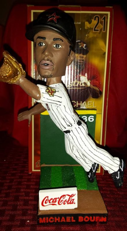 Micheal Bourn Houston Astros Bobblehead Wall Catch