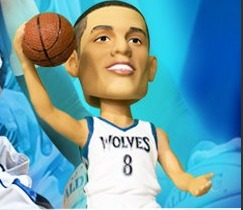 Minnesot Timberwolves Zach Lavine Bobblehead 1-23-2016