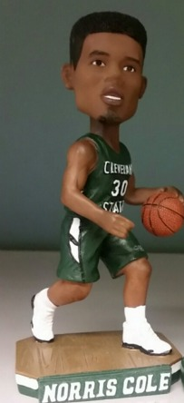 Norris Cole Bobblehead - Cleveland State Vikings (Men's NCAA Basketball) - 2-6-16