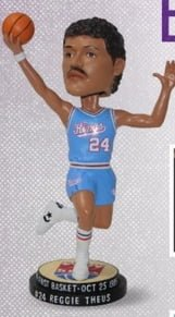 Sacramento Kings Reggie Theus Bobblehead 3-19-16