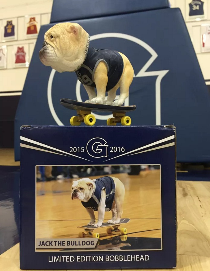 Skaterjack Bobblehead - Georgetown Hoyas (Men's NCAA Basketball) - 1-26-2016