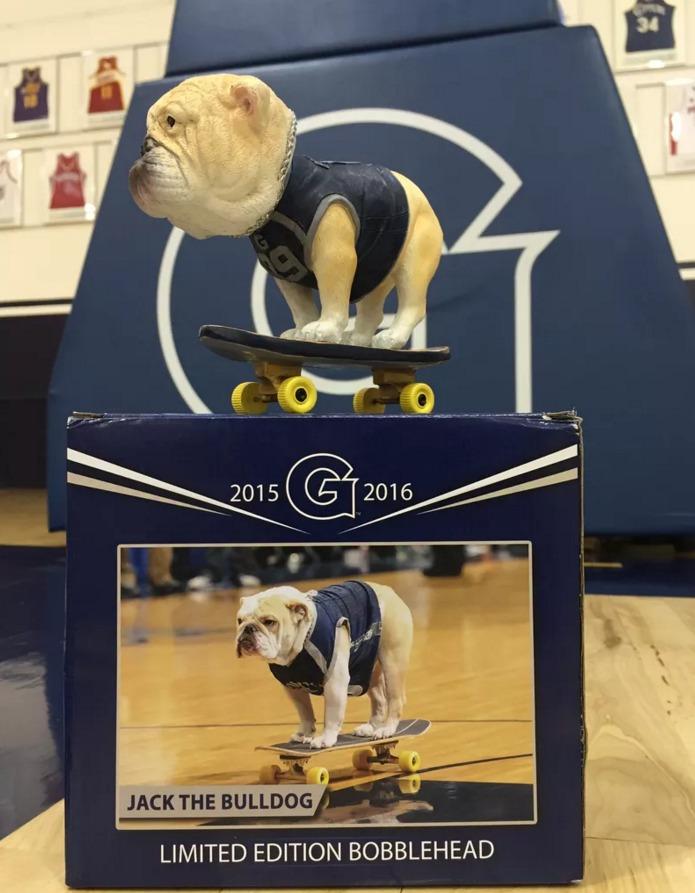 Skaterjack Bobblehead - Georgetown Hoyas (Men's NCAA Basketball) - 1-26-2016