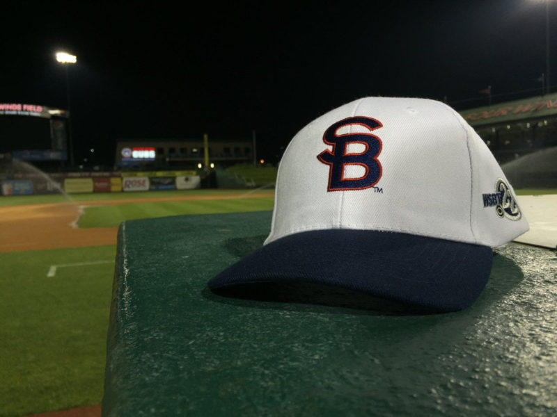 South Bend Cubs Hat 7-20-2016